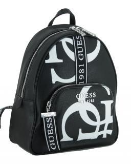 Backpack Guess Damenrucksack Haidee black white