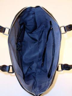 shopper leder l credi schwarz bags more. Black Bedroom Furniture Sets. Home Design Ideas