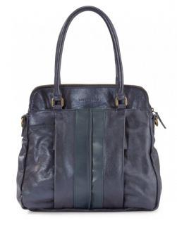 liebeskind karla glossy tasche blau gl nzend bags more. Black Bedroom Furniture Sets. Home Design Ideas