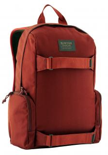 !!!Burton Emphasis Rucksack fired brick twill (weinrot)