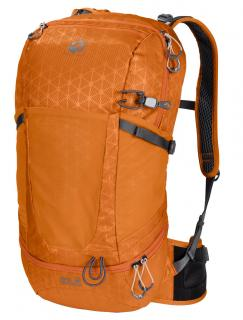 !!!Sportrucksack orange Gittermuster Jack Wolfskin Kingston 22 Pack