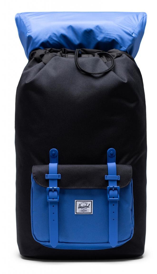 Herschel Schulranzen Little Amerika AmparobBk schwarz blau
