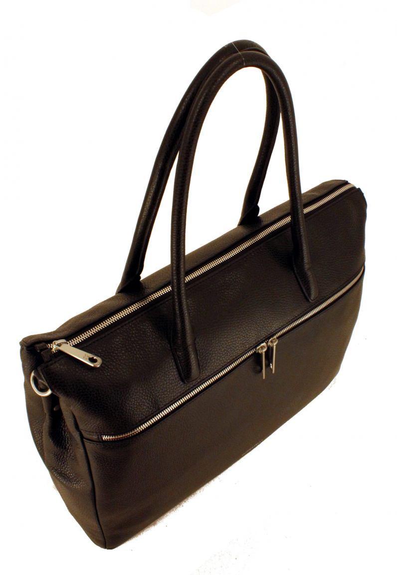 1019cbdb7e585 GiGi Fratelli Businesstasche für Damen Leder Navy Blau - Bags   more