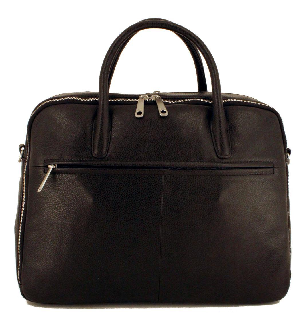 6bee06dfe2abe GiGi Fratelli Aktentasche für Frauen Leder Black Schwarz - Bags   more