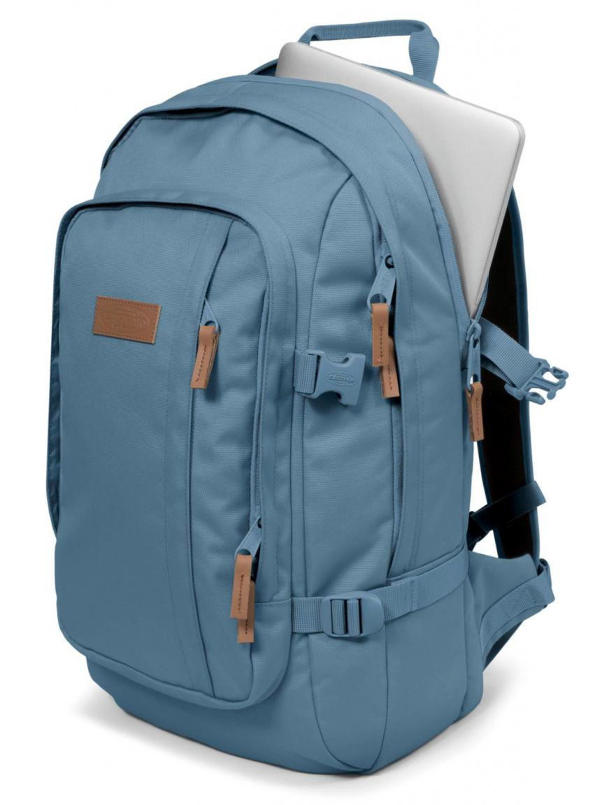 rucksack eastpak evanz mono glacier blau bags more. Black Bedroom Furniture Sets. Home Design Ideas