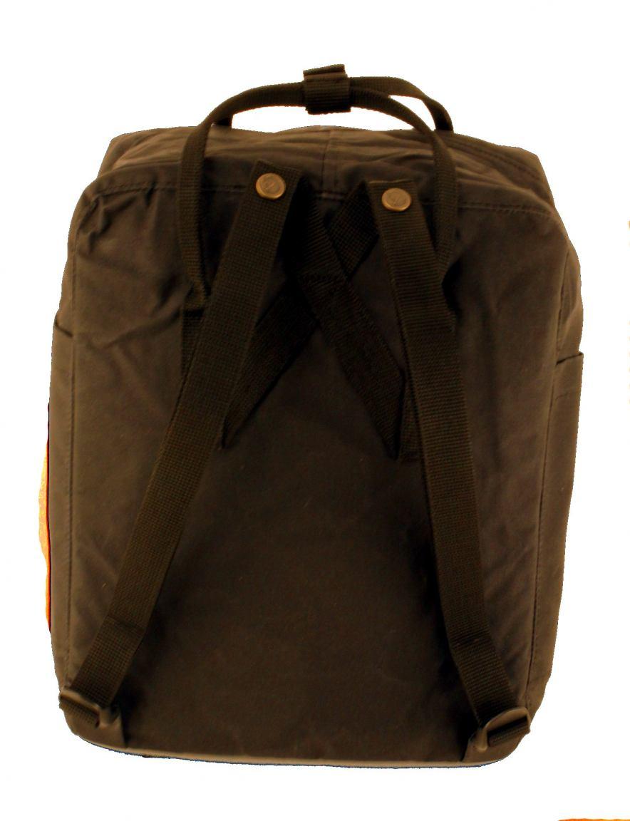 rucksack fjällräven black striped