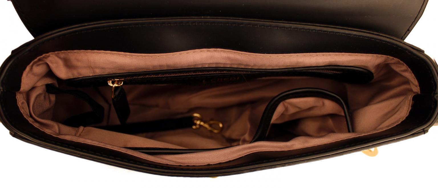 L.Credi Umhängetasche Andie Überschlag Synthetik blau Bags