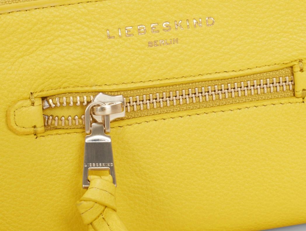 c2987b8b9cb7c Liebeskind Portemonnaie Arianna Leder Vintage lime zest gelb - Bags ...