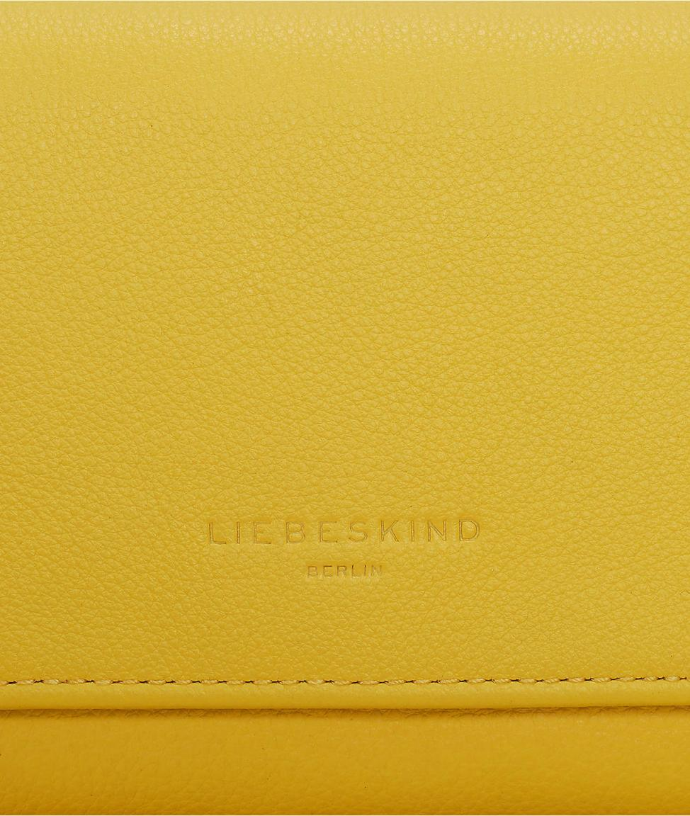 2287d5e3f0838 Liebeskind Geldbörse PiperF8 Vintage sunshine yellow gelb - Bags   more