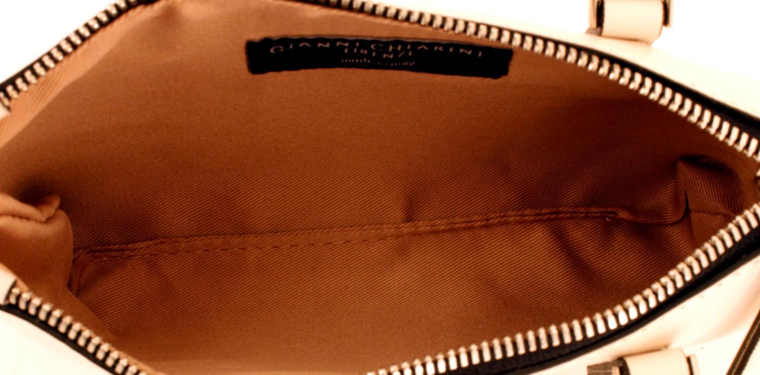 05731daa6d0bc Gianni Chiarini kleine Ledertasche blau - Bags   more