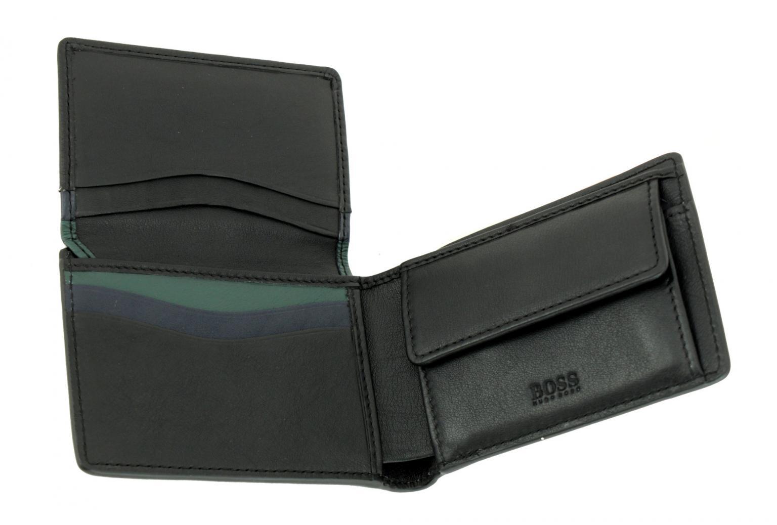 0e6885324e130 Hugo Boss Majestic flap Geldtäschchen Herren Leder schwarz - Bags   more
