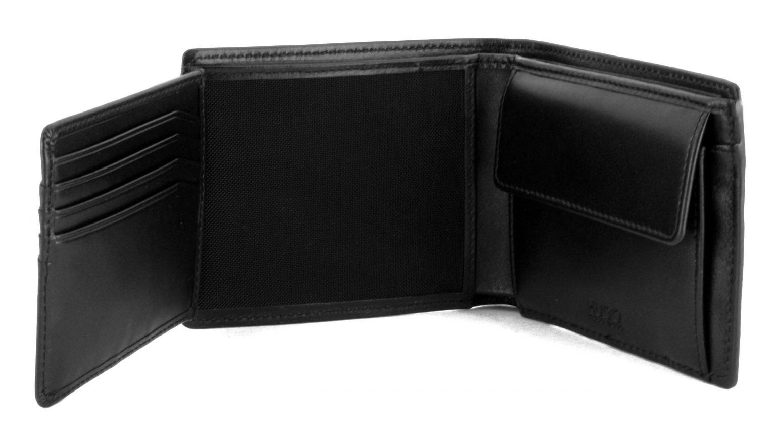 c05298469a616 Herrenbörse Subway Trifold Hugo Boss schwarz - Bags   more