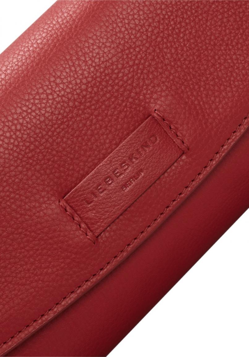 Red Essential Cabana Berlin Clutch Leder Rot Italian Liebeskind wpqCdxX
