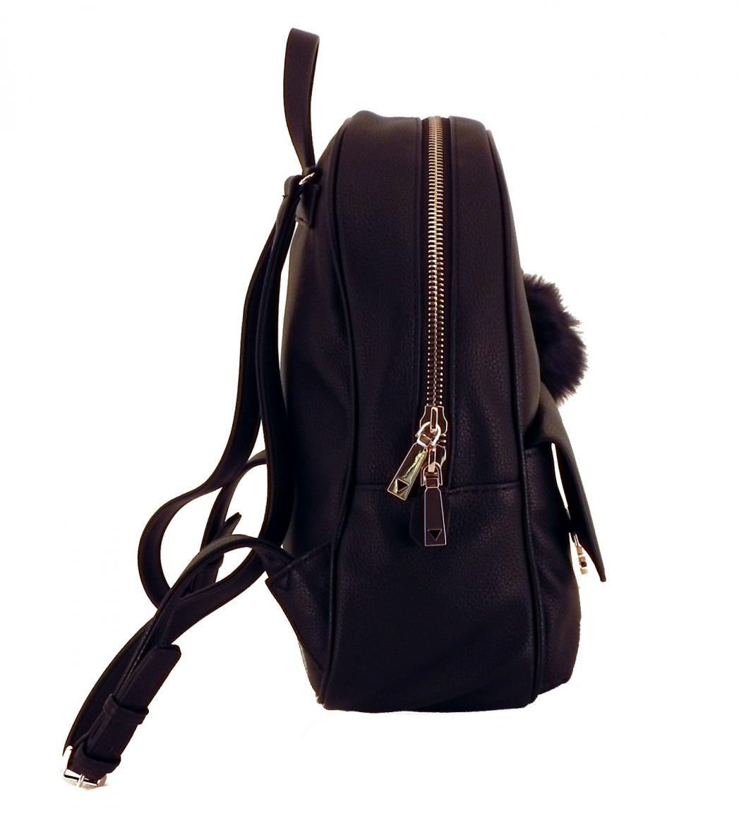 Cityrucksack Guess Tamra Small Backpack Stone grau Prägung