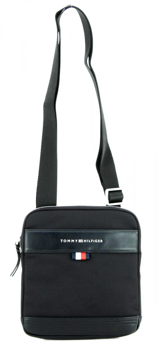 f0d53de9dac9d Tommy Hilfiger Tailored Mini Crossovertasche schwarz Nylon - Bags   more