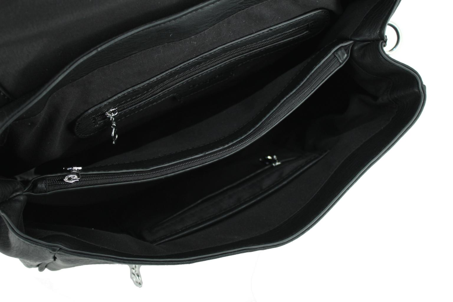 f05406e2d03ff Überschlagtasche Desigual Tivoli Dixie schwarz Nieten Glitzer - Bags ...