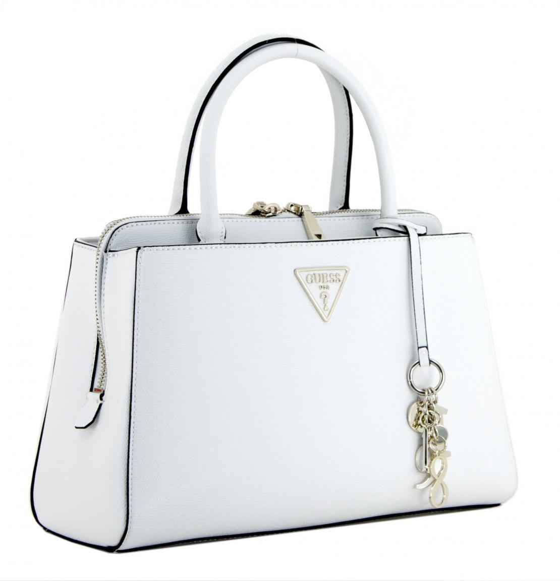 Handtasche Guess Maddy White Girlfriend Satchel weiß