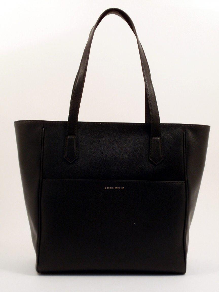 6e5eb30b5bea8 Coccinelle Oslo Shopper Leder petrol - Bags   more