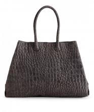 liebeskind chelsea croco tasche grau bags more. Black Bedroom Furniture Sets. Home Design Ideas