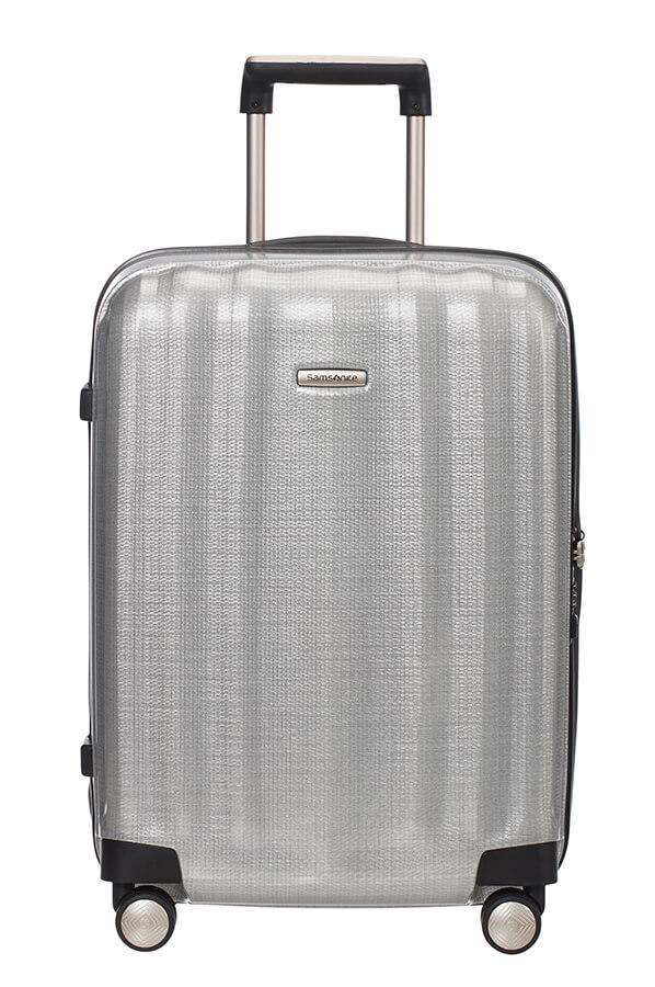 4-Rad Handgepäckskoffer 55 cm Samsonite Lite-Cube Silver