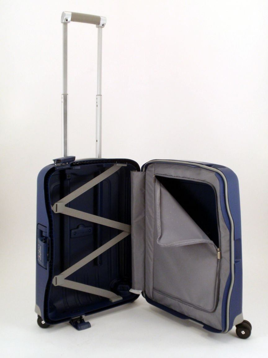 4-Rad Handgepäktrolley 55cm Samsonite S Cure blau