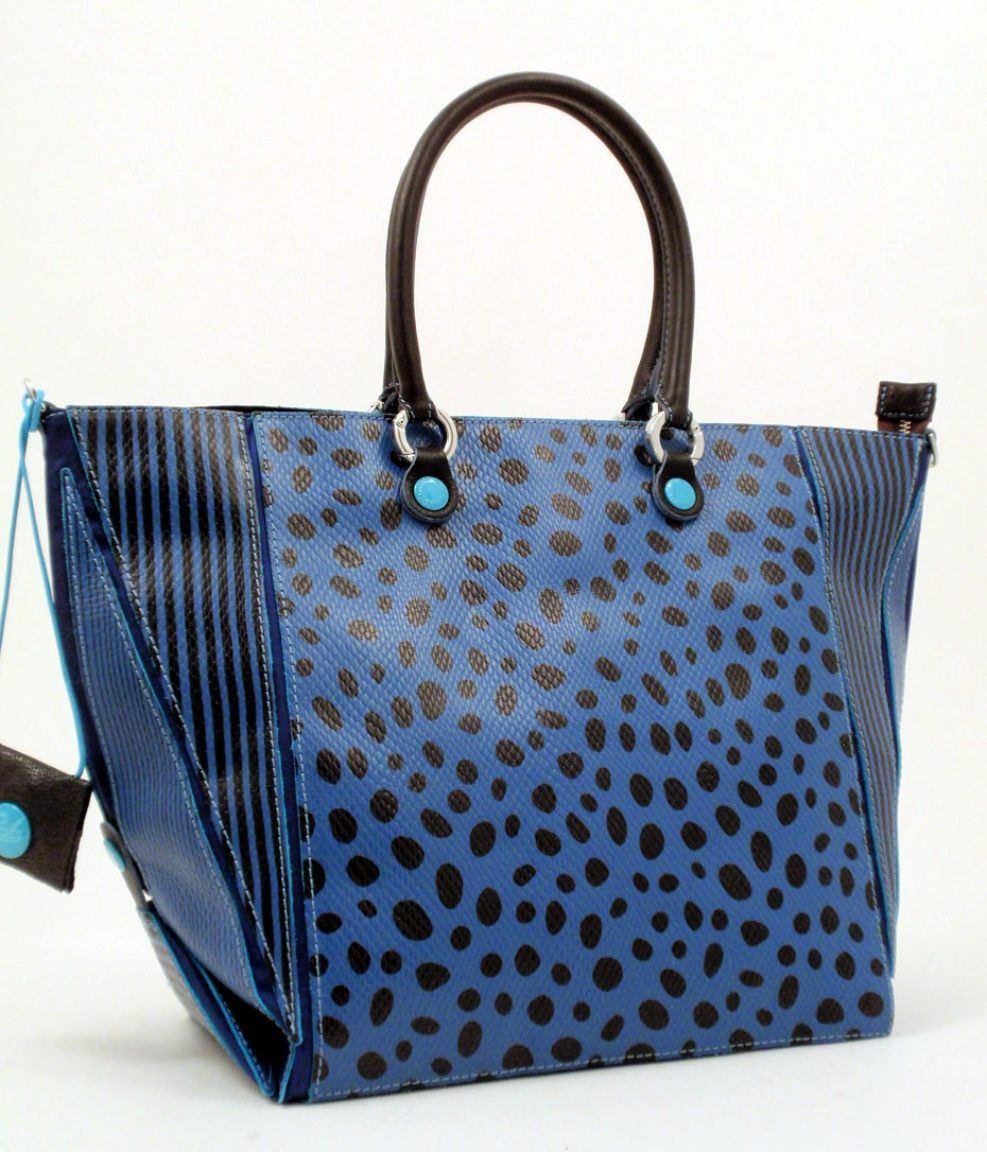 gabs cyndi l grafix tasche tupfen streifen blu bags more. Black Bedroom Furniture Sets. Home Design Ideas