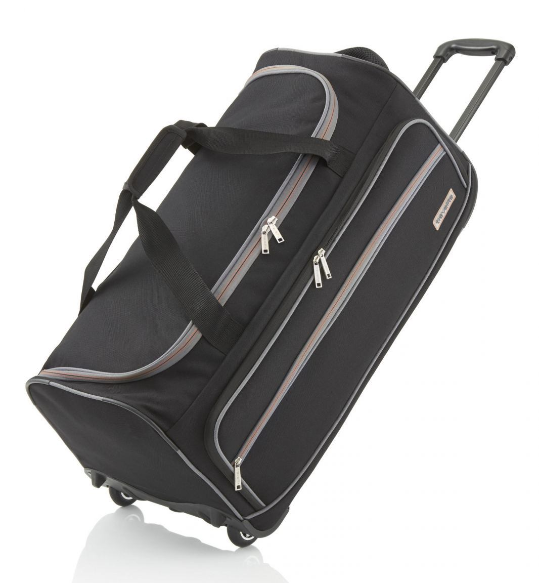 travelite trolley reisetasche xl 70cm schwarz bags more. Black Bedroom Furniture Sets. Home Design Ideas