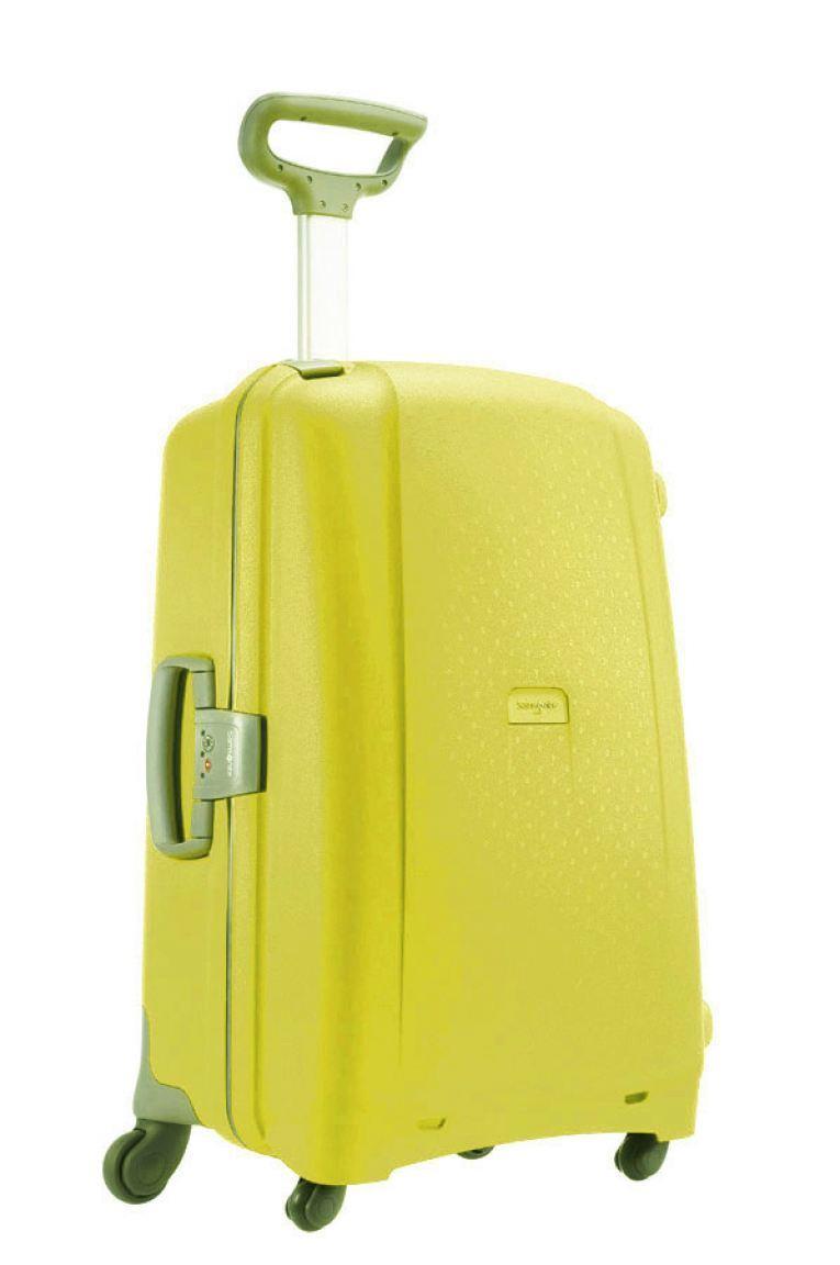 samsonite aeris hartschalenkoffer 75cm gelb bags more. Black Bedroom Furniture Sets. Home Design Ideas