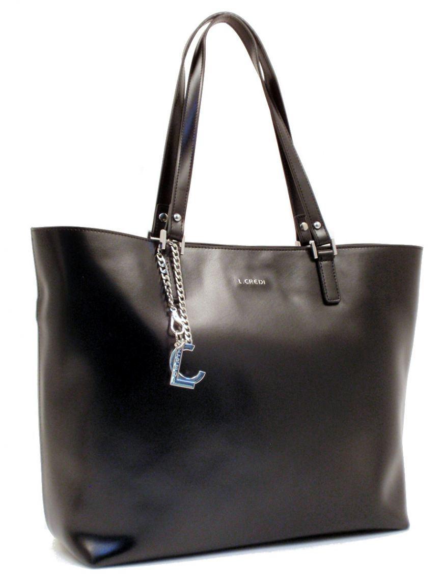 l credi shopper paola leder schwarz silber bags more. Black Bedroom Furniture Sets. Home Design Ideas