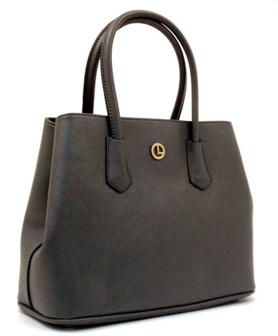 l credi yvonne handtasche mit zwischenfach grau bags more. Black Bedroom Furniture Sets. Home Design Ideas