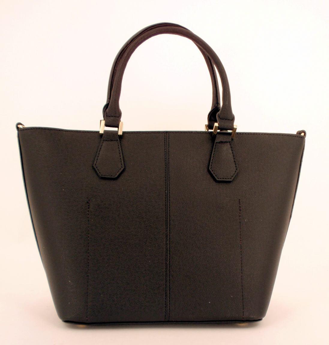 l credi shopper leder sonja schwarz innen blau bags more. Black Bedroom Furniture Sets. Home Design Ideas