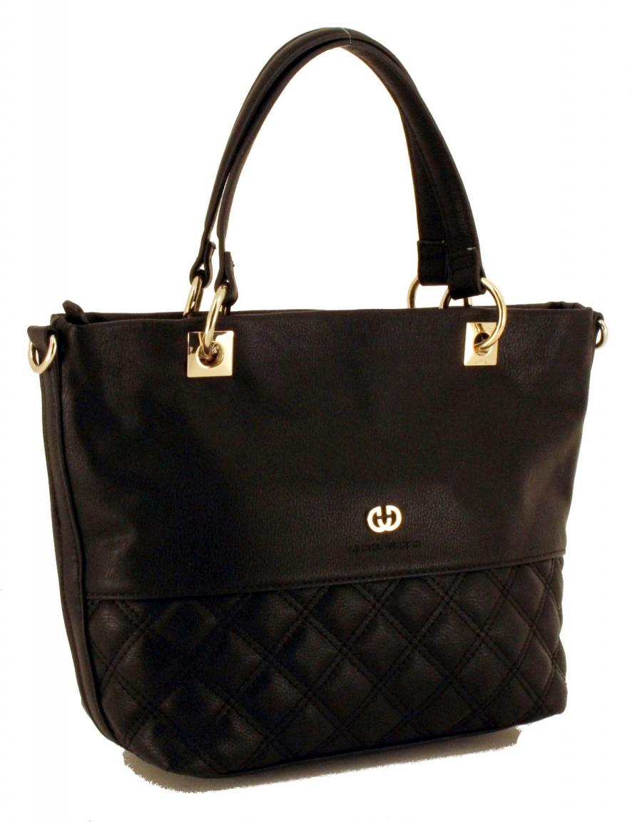 handtasche rautenstepp gerry weber flashy schwarz bags. Black Bedroom Furniture Sets. Home Design Ideas
