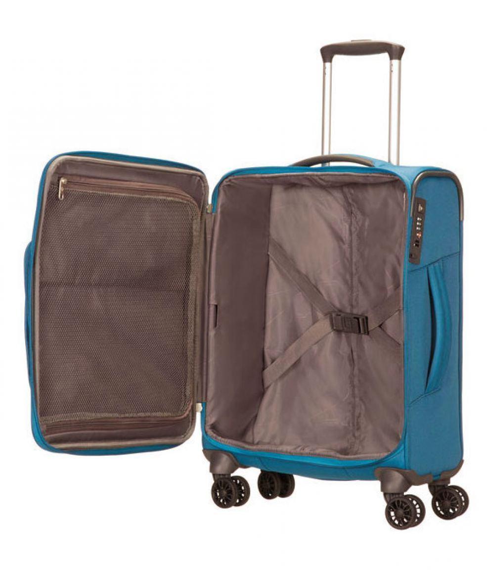 handgep ck koffer samsonite spark blau bags more
