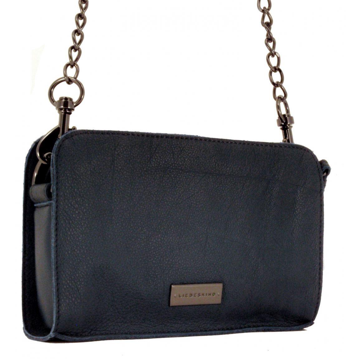 liebeskind tasche mit kettte crissy vintage blau bags more. Black Bedroom Furniture Sets. Home Design Ideas
