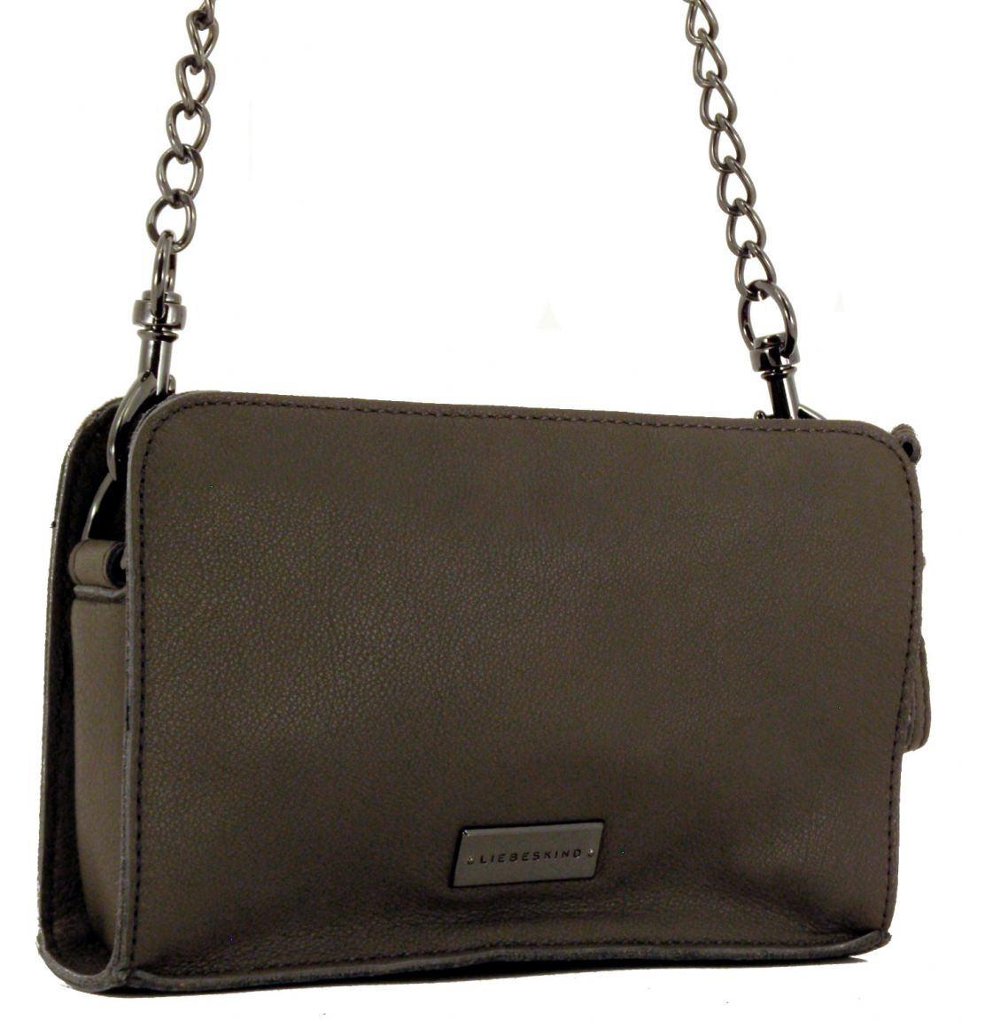 liebeskind crissy tasche mit kette vintage grau bags more. Black Bedroom Furniture Sets. Home Design Ideas
