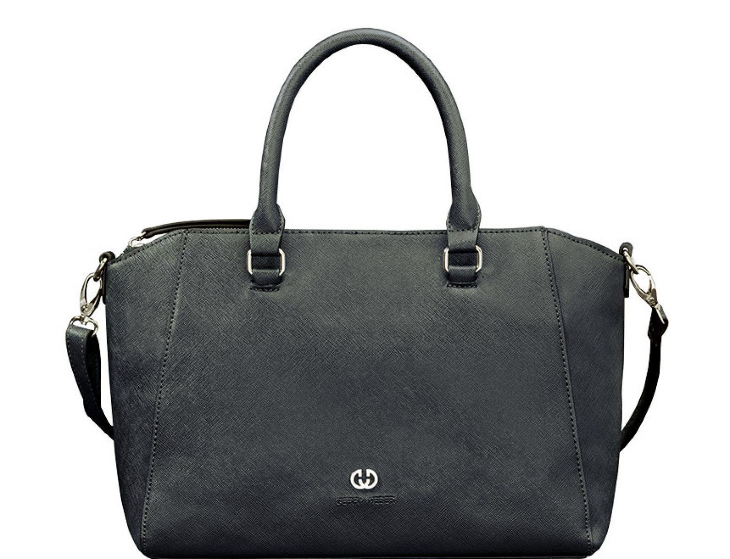 gerry weber handtasche m downtown dark blue bags more. Black Bedroom Furniture Sets. Home Design Ideas