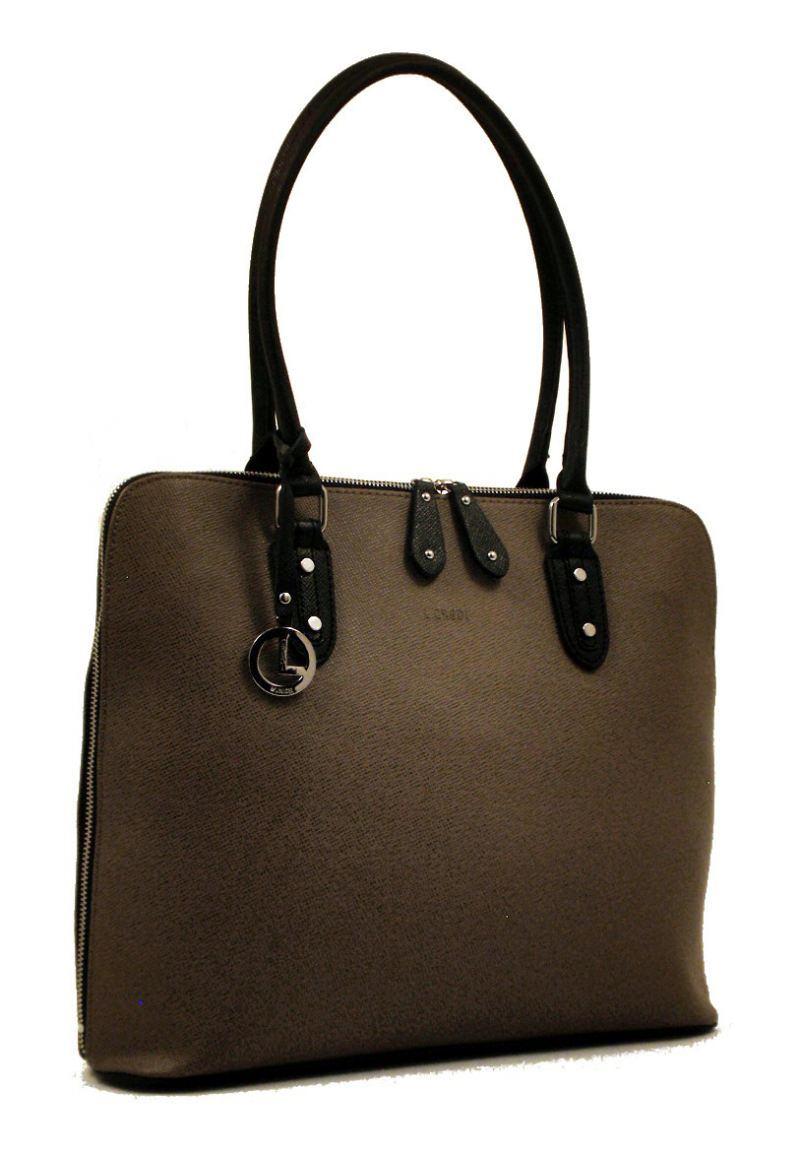 l credi shopper leder antonia taupe bags more. Black Bedroom Furniture Sets. Home Design Ideas