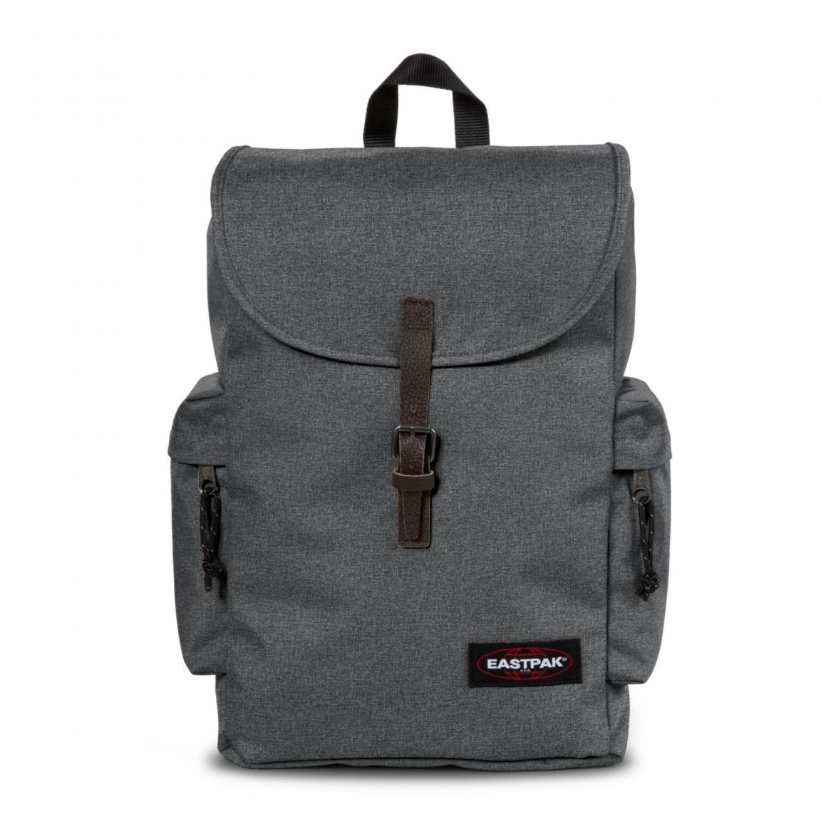 eastpak austin rucksack mit laptopfach black denim bags more. Black Bedroom Furniture Sets. Home Design Ideas