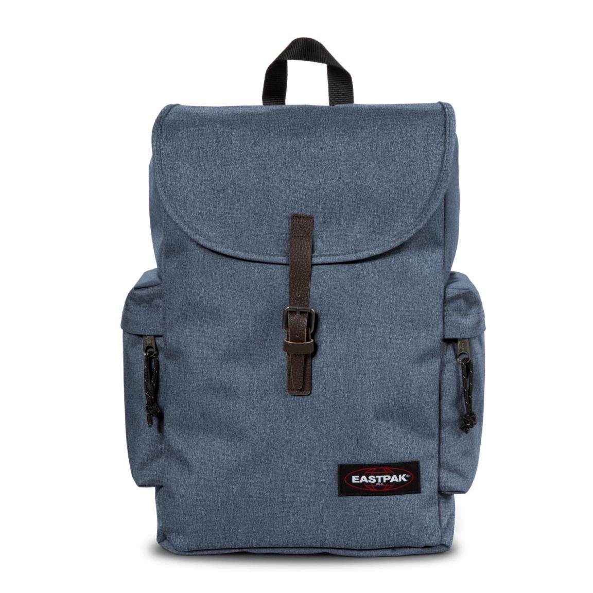 eastpak austin rucksack double denim blau bags more. Black Bedroom Furniture Sets. Home Design Ideas