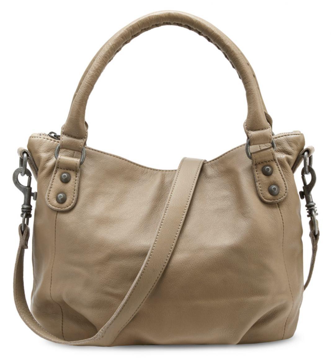 liebeskind gina6 vintage handtasche leder stone bags more. Black Bedroom Furniture Sets. Home Design Ideas