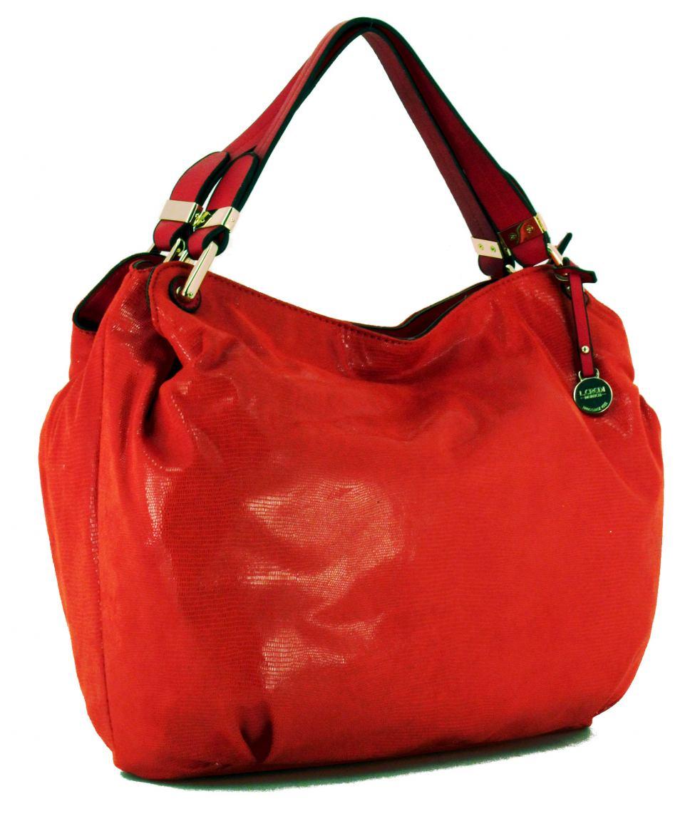 l credi shopper sofia coralle rot gl nzend bags more. Black Bedroom Furniture Sets. Home Design Ideas