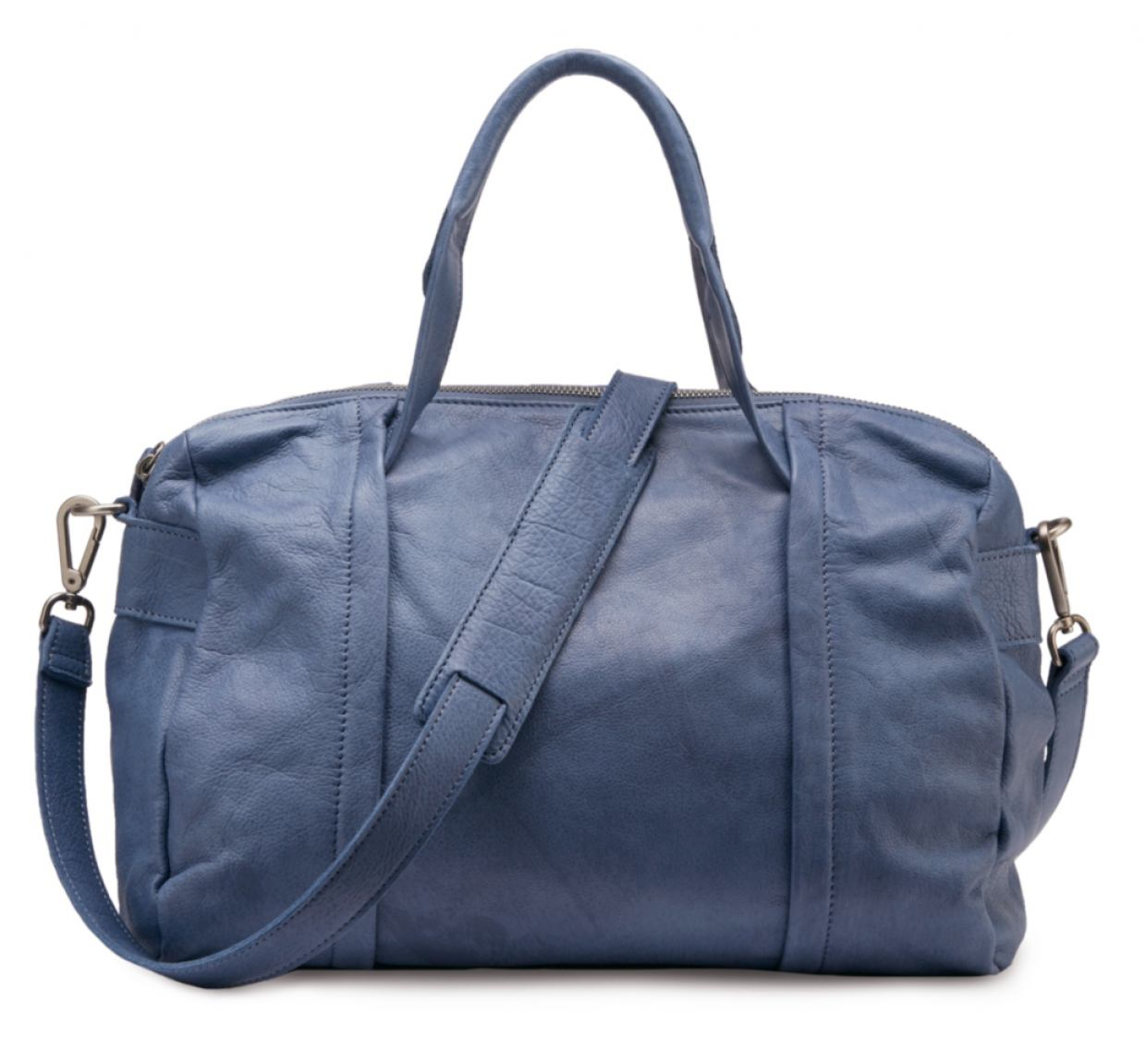 liebeskind tasche evelyn leder ziern hte blau bags more. Black Bedroom Furniture Sets. Home Design Ideas