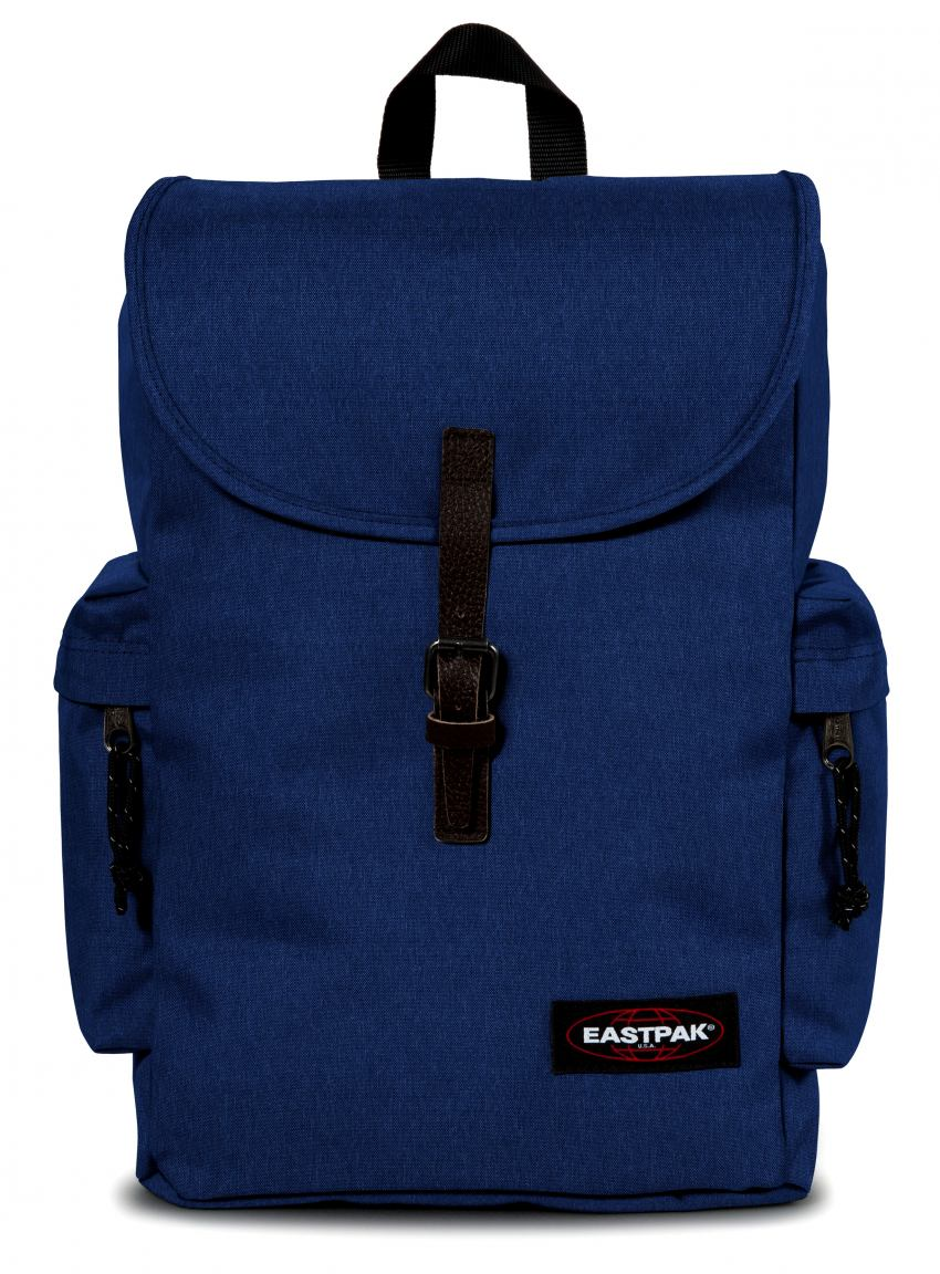 eastpak austin rucksack zugband crafty blue blau bags more. Black Bedroom Furniture Sets. Home Design Ideas