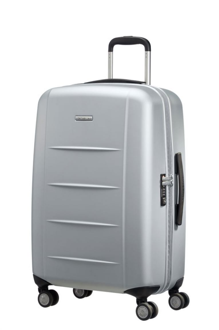 samsonite xylem pc trolley hartschale silver bags more. Black Bedroom Furniture Sets. Home Design Ideas