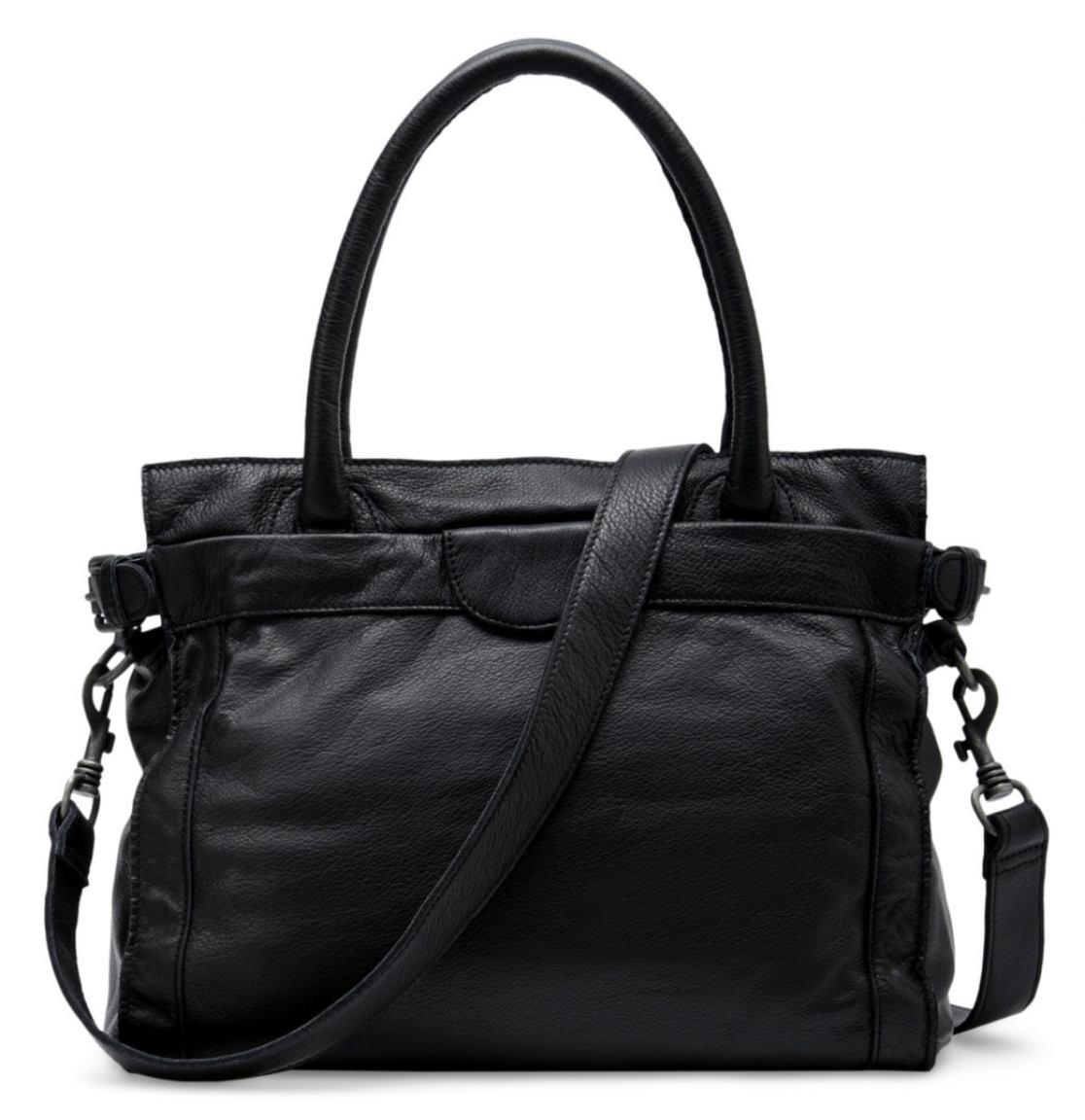 henkeltasche liebeskind glory vintage leder black schwarz bags more. Black Bedroom Furniture Sets. Home Design Ideas