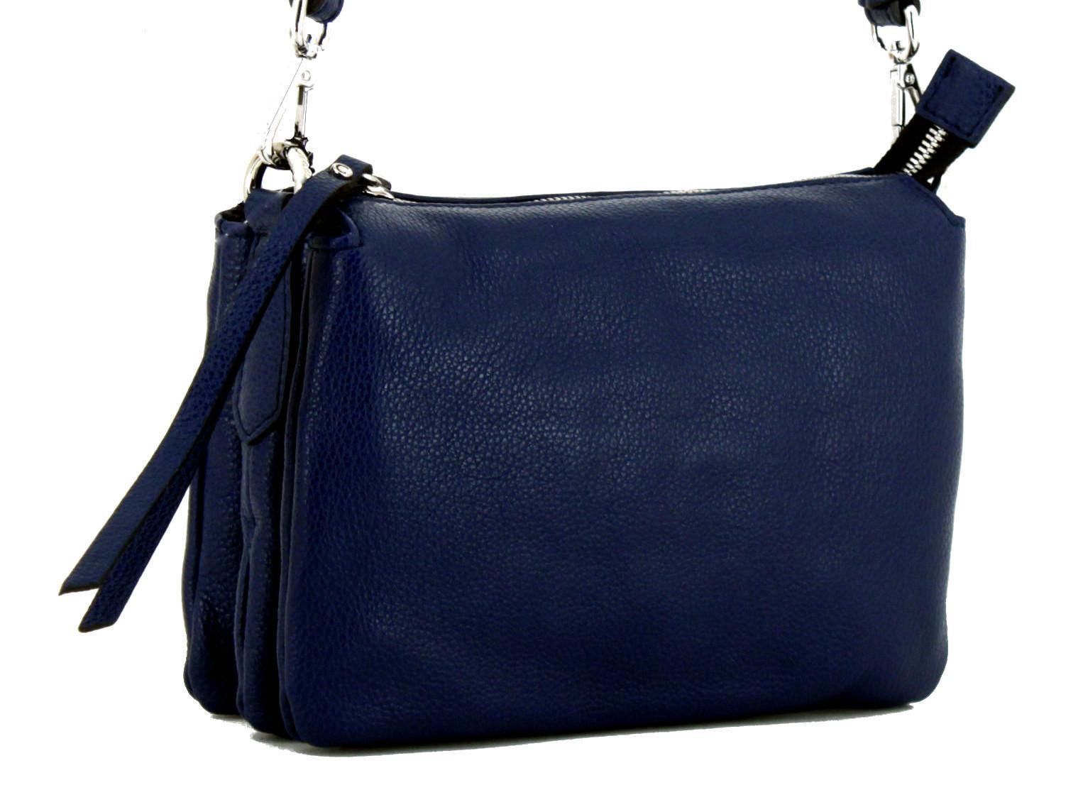 9c7589e0f180f Abendtasche Three Gianni Chiarini Klein Blue dunkelblau - Bags   more