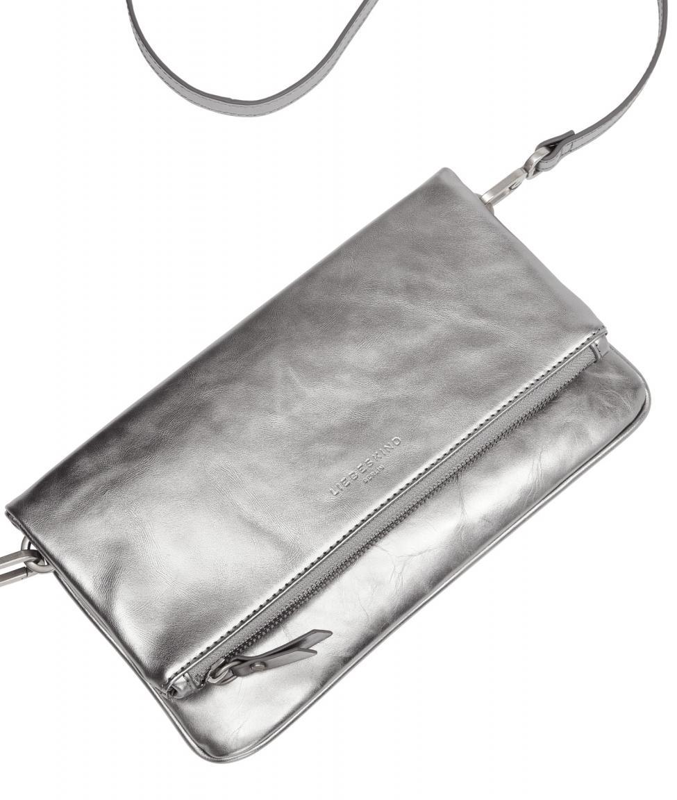 Abendtasche Aloe Liebeskind Silver Lead silber Marshell Metallic