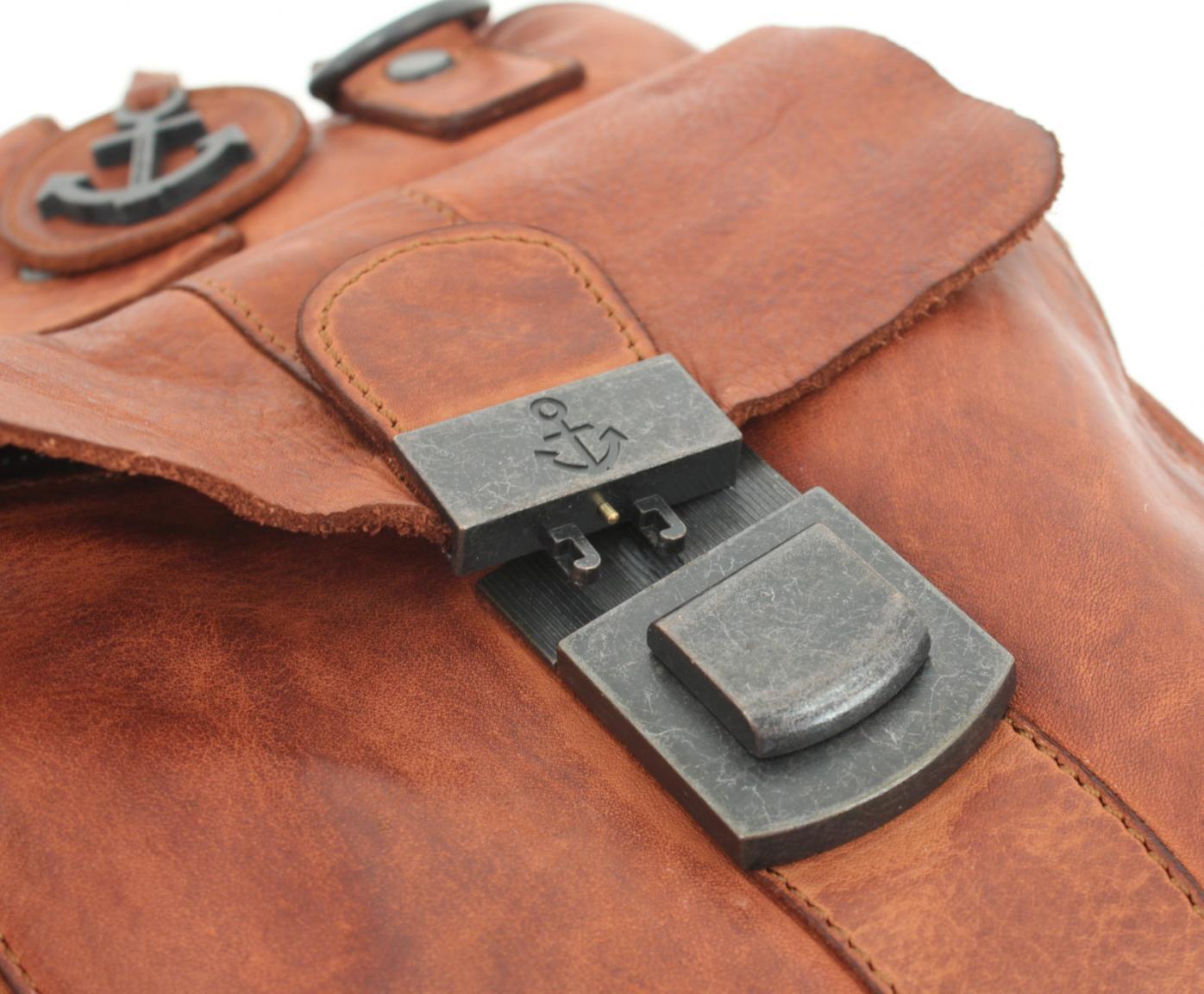 Aktentasche Harbour 2nd Winterhude Brown Vintage braun