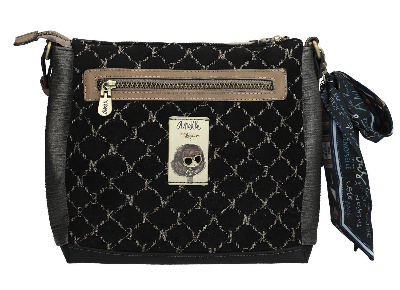 Anekke Crossbodytasche Schleife Couture Frankreich schwarz