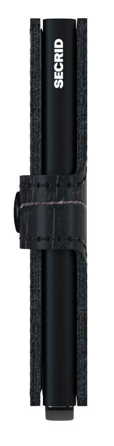 Ausleseschutz Börse Secrid Miniwallet Cleo Black Reptiloptik